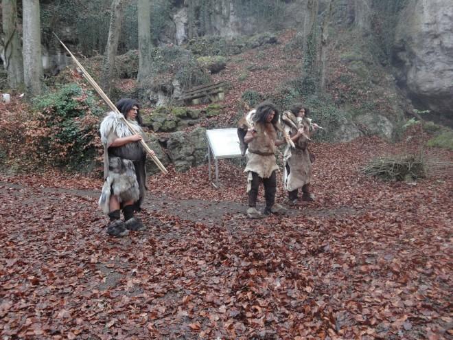 Dreharbeiten in Neanderthal