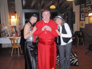 Karnevalskostüm Kardinal